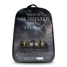 Anime Game of Thrones Daily Backpack For Teenagers Boys Girls School Bags Women Men Travel Bag Children School Small Backpacks