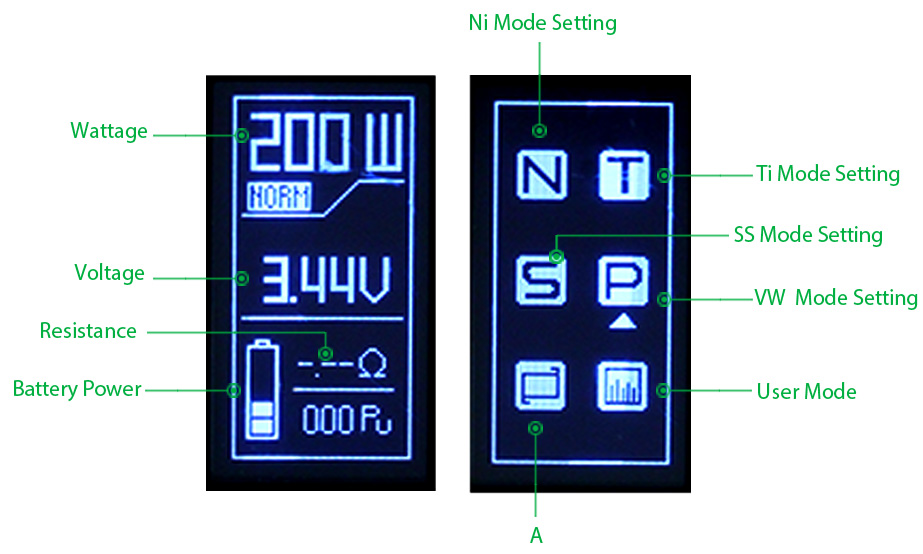 200W IJOY RDTA BOX Full Kit W/O Battery