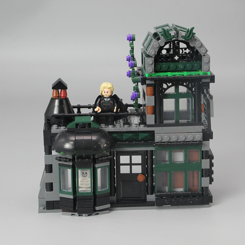 710436742 шт Поттер фильм серии замок Волшебная Модель Строительный блок Набор блоков, игрушки для детей Рождественский подарок совместим с 16060 - 3