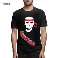 Fashion Ramb Skull  T-shirt Man Casual Top Design For Graphic T Shirt New Arrival Fashionable Hot sale