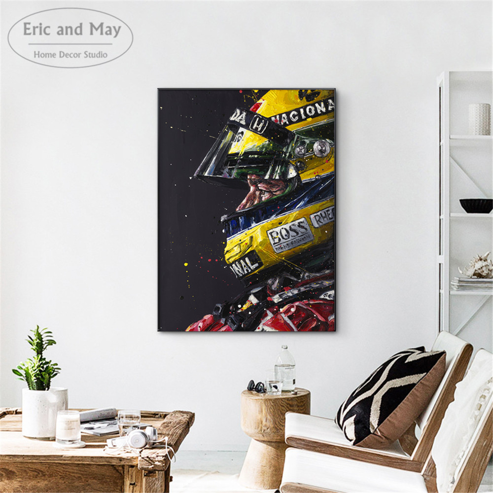 Senna Figure Watercolor Artwork Vintage Canvas Prints Modern Painting Posters Wall Art Pictures For Living Room Decoration in Painting Calligraphy from Home Garden