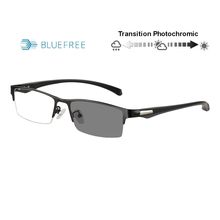 Transition Photochromic Anti Blue Ray Computer Reading Glasses Flexible Temples