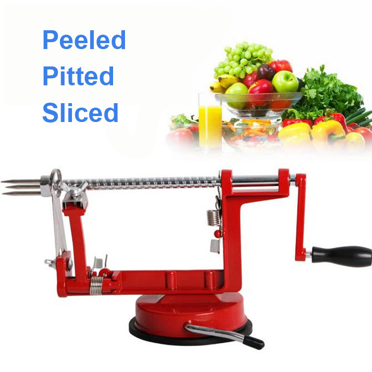 Y91 High Quality Competitive Price 3 In 1 Apple Peeler Fruit Slicing Stainless Steel Peeled font