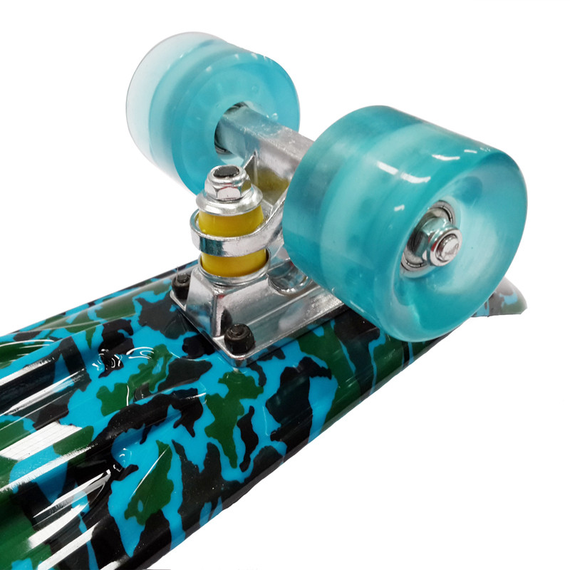 """Image 2 - Peny Board 22""""Plastic Skateboard Boy Girl  Available-in Skate Board from Sports & Entertainment"""