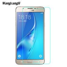 5PCS For Tempered Glass Samsung Galaxy J7 Screen Protector Ultra-Thin Protective Film 2.5D 2017 glass