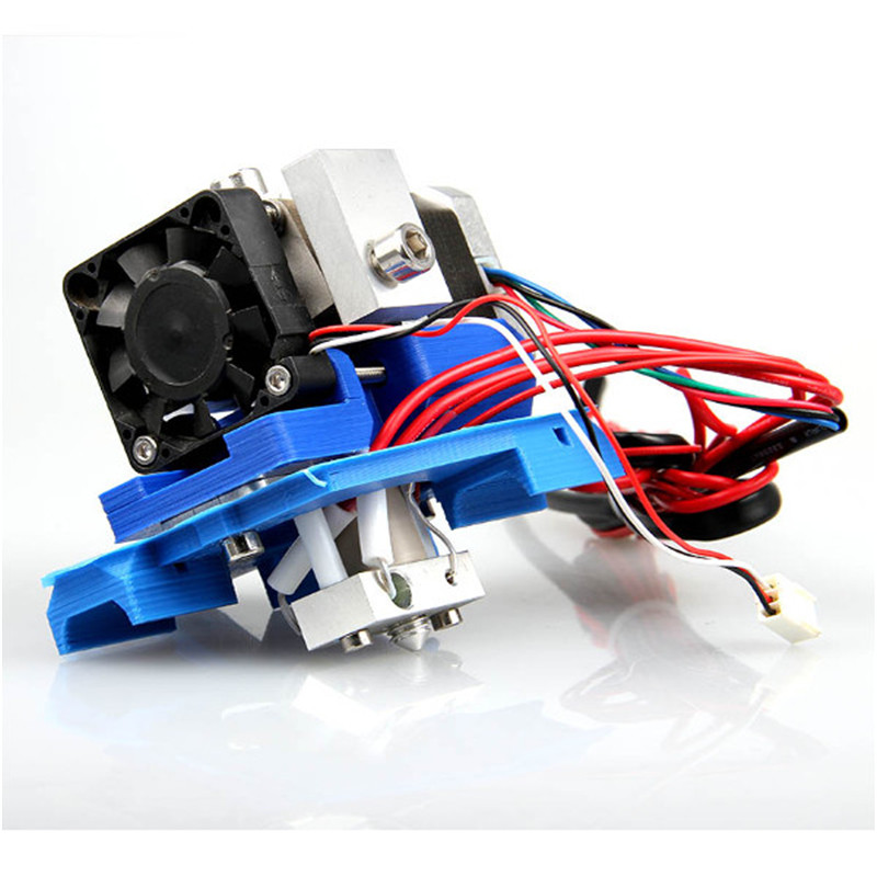 For Assembled GT2 Extruder 0.35mm Nozzle 3mm Filament For 3D Printer Makerbot Extrusion head print head Kit geeetech gt3 assembled 3d printer extruder with stepper motor nema17 0 3 0 35 0 4 0 5mm nozzle for 1 75 3mm filament