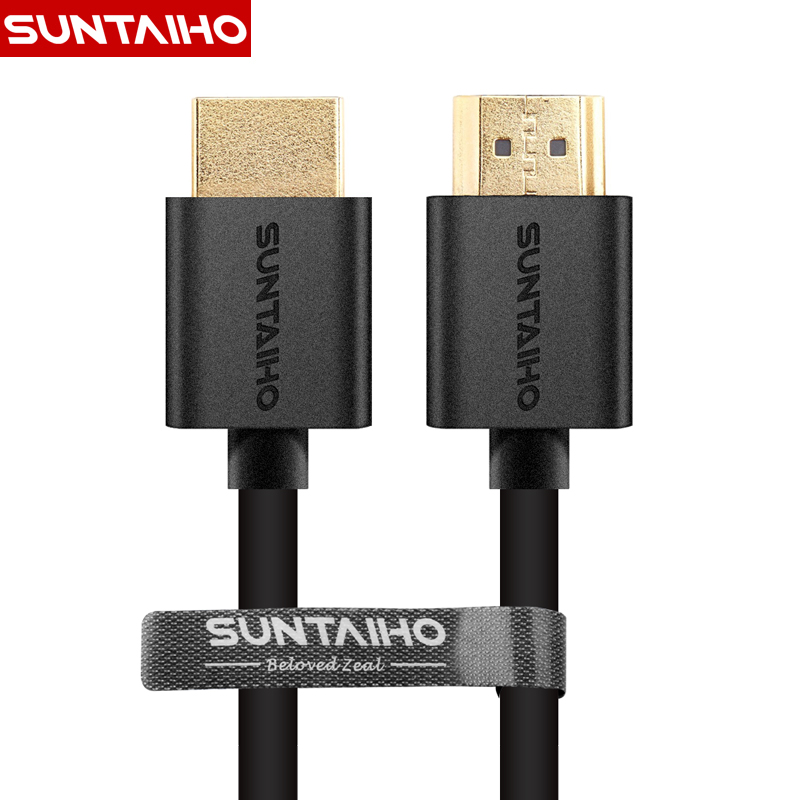 Suntaiho 9FT 1M, 2M, 3M, 5M, 10M High speed Gold Plated Plug Male-Male HDMI Cable 1.4 Version w Nylon net 1080p 3D for HDTV XBOX PS3