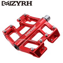 MZYRH 9/16 inch Bicycle Pedals MTB Bright Surface Aluminum Alloy CNC Machined Ultralight Bearing Bike Accessories