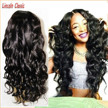 New Grade 7a Loose Wave Wig Virgin Peruvian Full Lace Wig Glueless Full Lace Human font