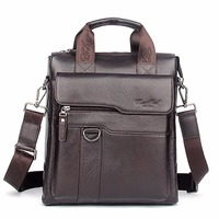 Real Genuine Leather Men Business Single Shoulder Bag Fashion Trend Cross Body Messenger Bags Male Tote