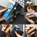 3D Toque Armadura Espelho Galvaniza Temperado Vidro Frontal e Traseira Brilhante Tela de Proteção Film Pele Para IPhone6 6 S 7 7 Mais