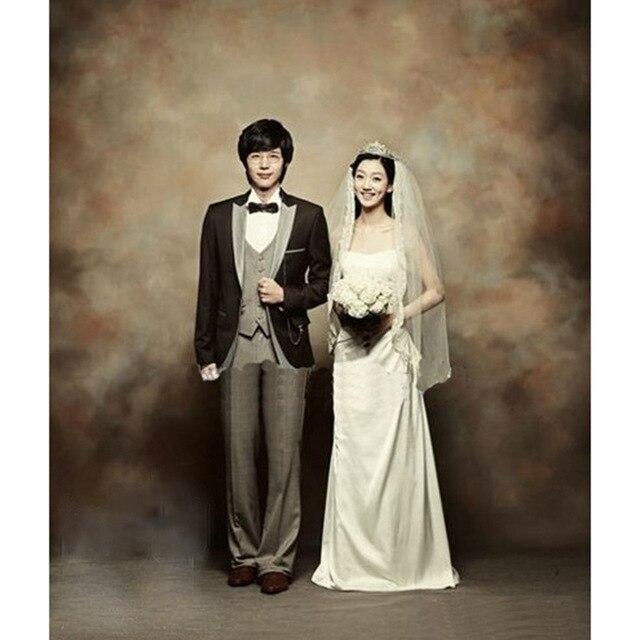 3x6 m Pro fantaisie peint à la main Muslin portrait fond photographie, mariage Personnalisé toile de fond milieux pour photo studio