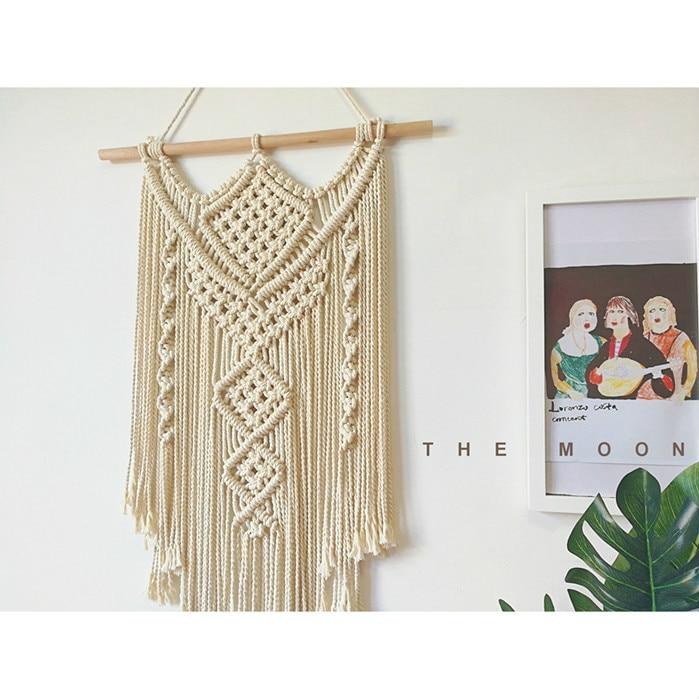 Buy indian handmade macrame hanging for Hand work decoration