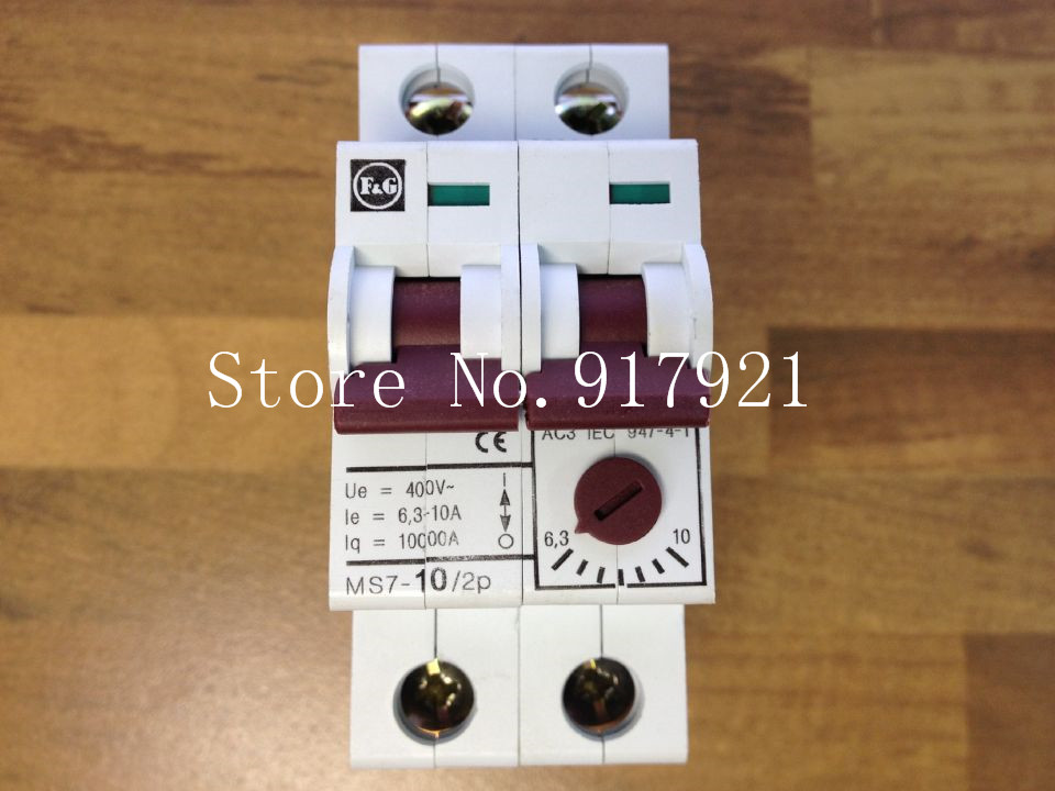 [ZOB] The German Admiralty MOELLER Moeller MS7-10/2P motor protection switch 6.3-10A miniature circuit breaker --5pcs/lot [zob] muller moeller eaton l7 16 2 d breaker 2p16a d16a genuine original 5pcs lot