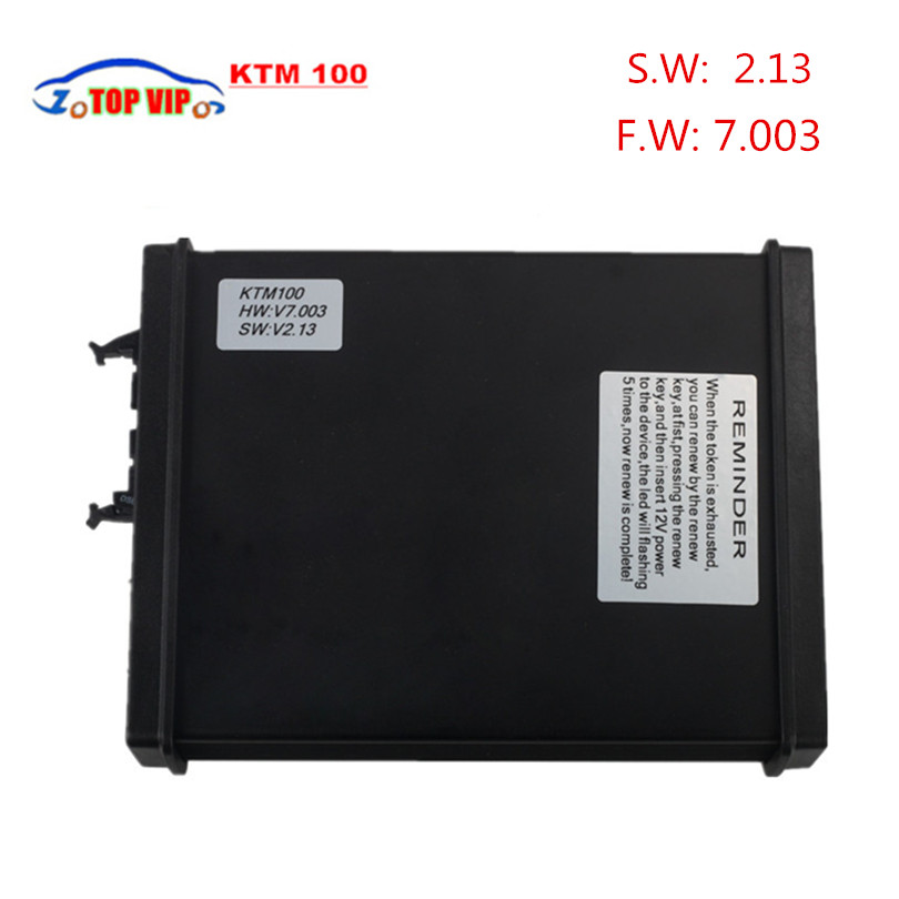 Hot Selling V2 13 FW V7 003 KTM100 KTAG K TAG ECU Programming Tool Master Version