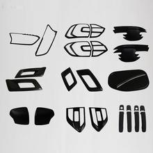 2016 for ford everest endeavour black kits for Ford everest 2016+ decorative lamp hood suitable ford endeavour car styling parts