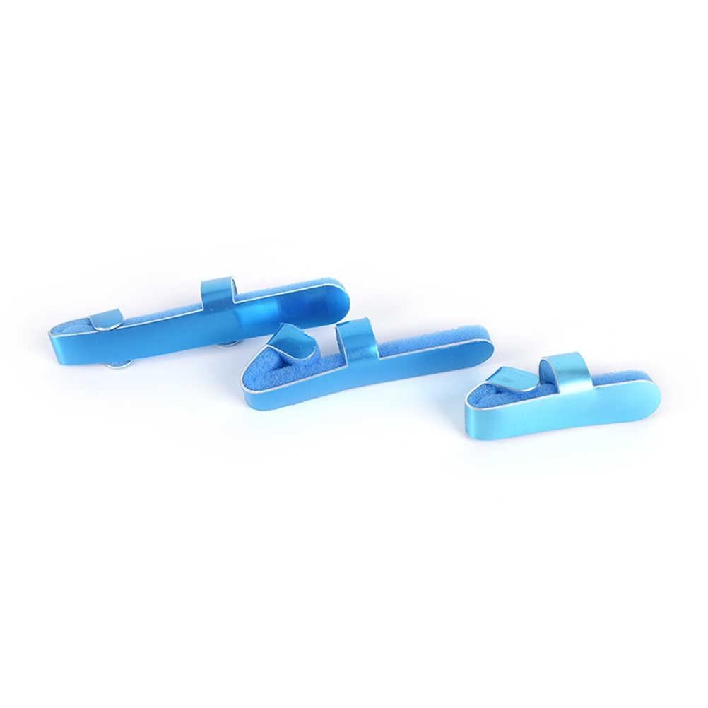 Медицинская пальцевая шина из алюминиевого сплава, фанерное соединение для пальцев, оборудование для восстановления Ортез для пальцев, ручная ортопедическая S/M/L