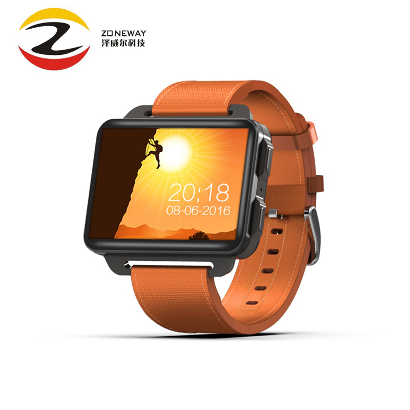 DM99 Smart Aatch Update of DM98 MTK6580 Quad Core 2.2 Inch IPS Screen 1GB+16GB Android 5.1 OS 1200mah Battery 3G Wifi GPS Watch