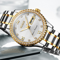 OLEVS Watches Men Top Brand Luxury High Quality Quartz Watches Week Display Sport Men S Watches