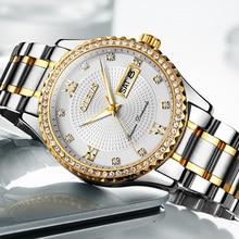 OLEVS Watches Men Top Brand Luxury High quality Quartz Watches Week Display Sport Men's Watches Waterproof erkek kol saati 2018