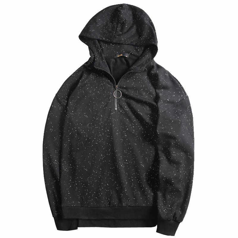 GXXH Männer Hoodies Sweatshirts Große Größe Große Plus 5XL 6XL 7XL Casual Lose Pullover Mit Kapuze Mantel Schwarz Übergroßen Sweatshirts Männlichen