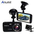 Anumit Car DVR Camera Full HD 1080P 4.0'' IPS Screen Dash Cam Dual Lens  Rearview Camera Video Recorder Registrar Night Vision