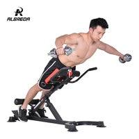 ALBREDA Roman chair multi functional waist gym exercise Fitness chair dumbbell stool goat chair fitness equipment