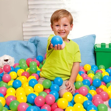 25-200 Pcs Plastic Ball Eco-Friendly Colorful Balls Soft Kid Swim Pit Toy Outdoor Beach Ocean Wave Ball Water Pool Children Toys
