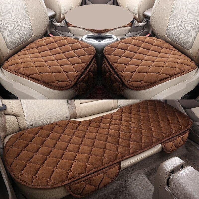 New Universal Velvet Car Seat Cushions For Skoda Octavia Superb Yeti Fabia spaceback Rapid ,High-fiber,