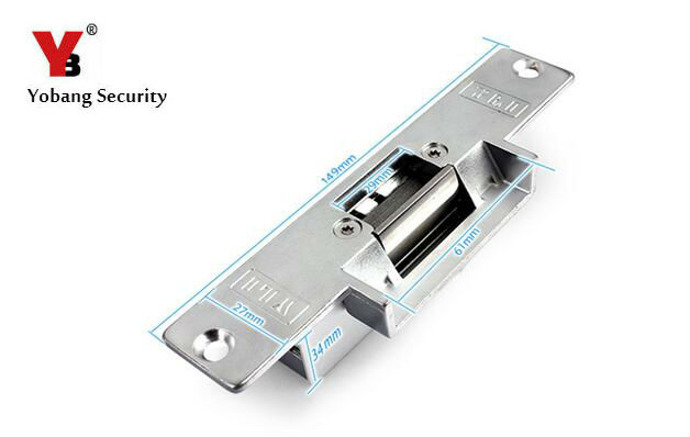 Yobang безопасности электронные дверные замки для Система контроля доступа Применение Сбой Безопасный режим открывания двери для видео-телеф... ...