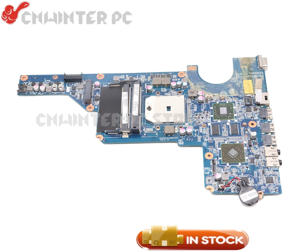 NOKOTION 649950 001 DA0R23MB6D1 For HP Pavilion G4 G6 G7 Laptop Motherboard Socket FS1 HD 6470