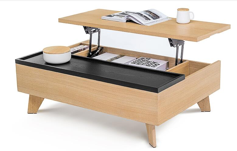 Поднимать и опускать Многофункциональный чайный столик