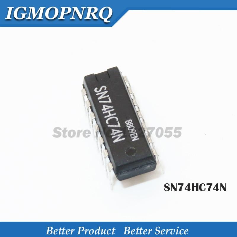 SN74HC74N circuit intégré DIP-14 74HC74