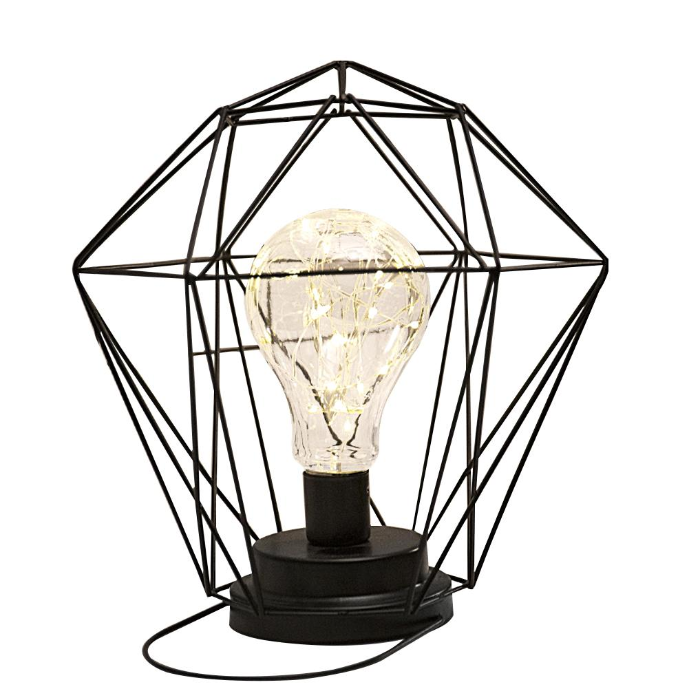 New Arrival Iron Geometric Shape Table Lamp Nordic Style Home/ Office Decor Pretty Ornament Hot Selling
