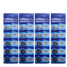 GTF 20pcs/pack 3V CR2032 Button Battery BR2032 DL2032 ECR2032 Cell Coin Batteries for Watc