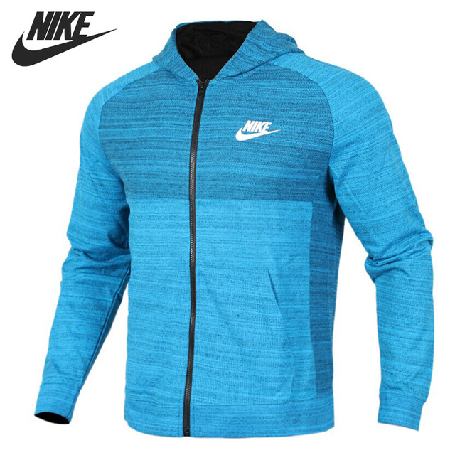 Original New Arrival NIKE NSW HOODIE FZ AV15 KNIT Men s Jacket Hooded  Sportswear 203bf20a05af