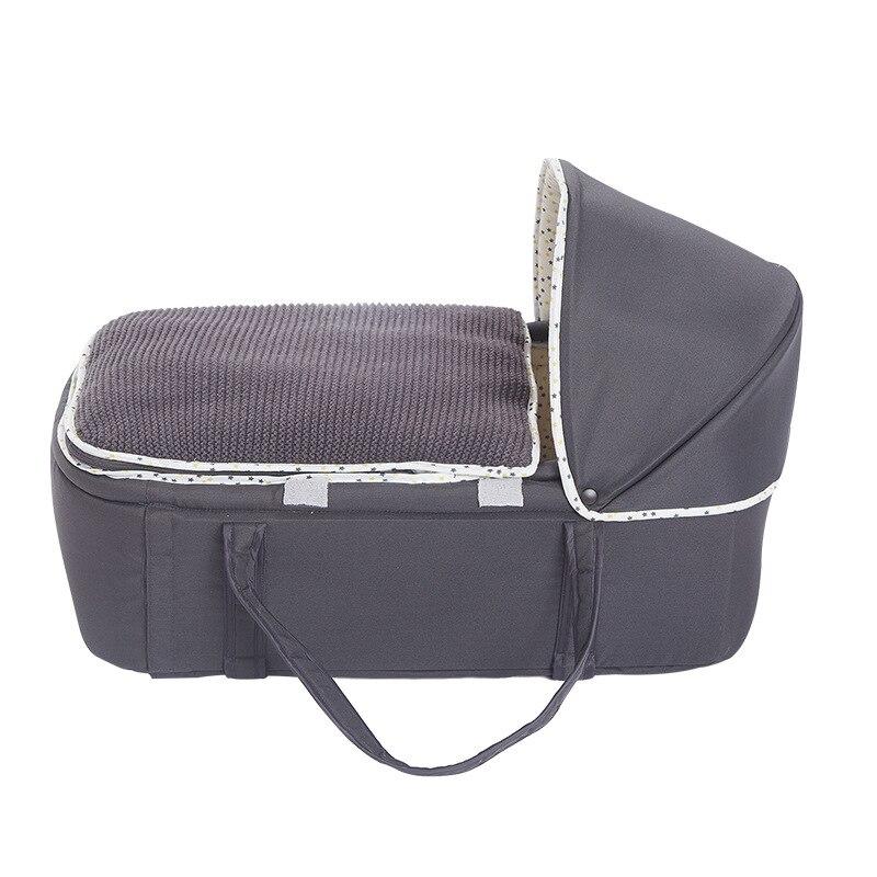 Nouveau-né bébé Portable amovible et lavable lit de voyage lit nid lit berceau pliable épaissi panier de couchage