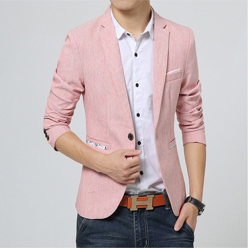 Aliexpress.com : Buy 2016 New Arrival Fashion Pink Blazer Men's