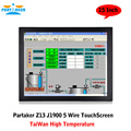 Partaker Z13 Taiwan High Temperature 5 Wire Touch Screen Bay Trail Celeron J1900 All In One PC With 2 COM