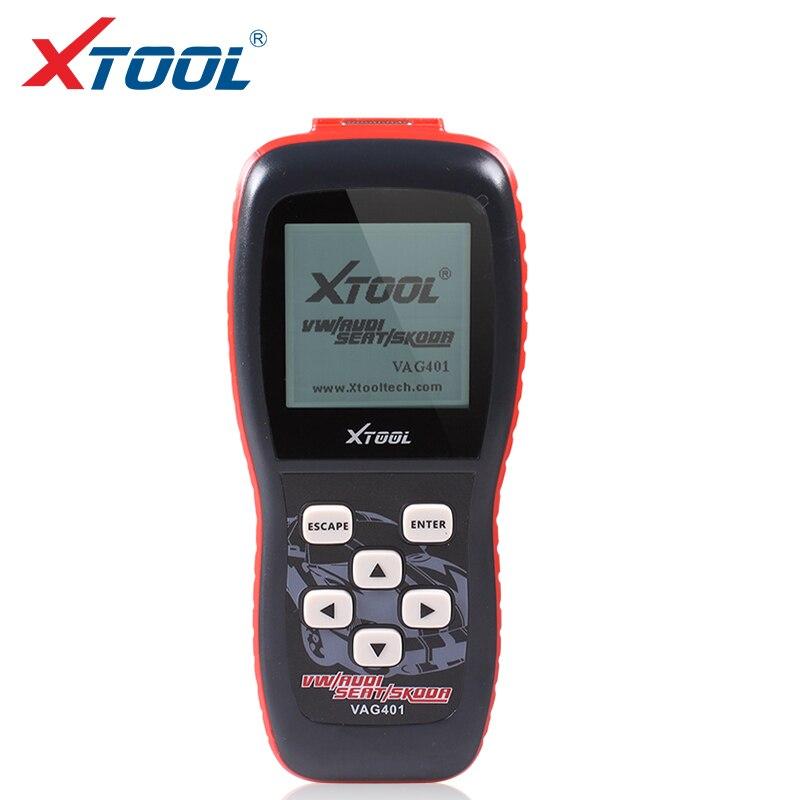2018 Top Qualité Xtool VAG401 Outil Professionnel Code Scanner ToolVAG 401 Auto diagnostic Scanner pour AUDI/SEAT/SKODA/VW