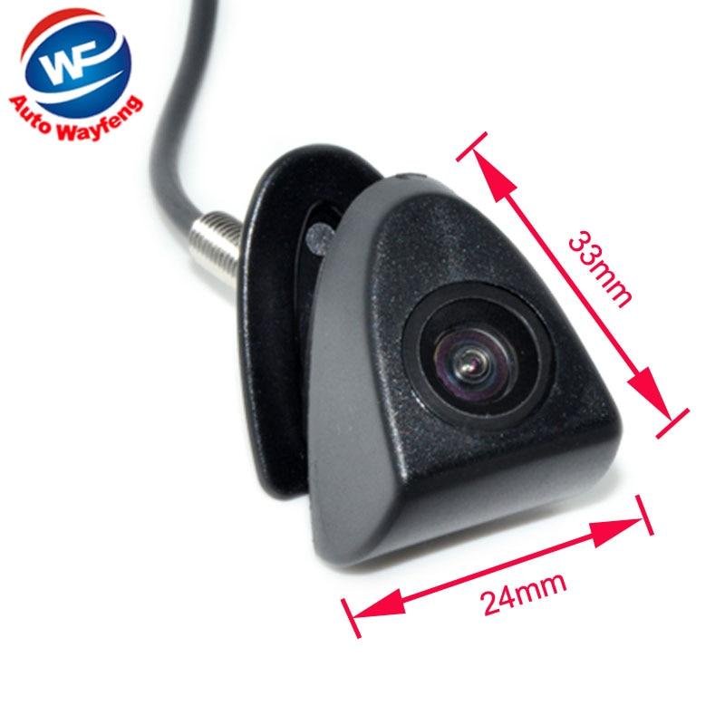 CCD Car Front View Logo Embeded Camera For Toyota Prado Highlander Land Cruis Camry Corolla Yaris VIZI REIZ Verso front camera