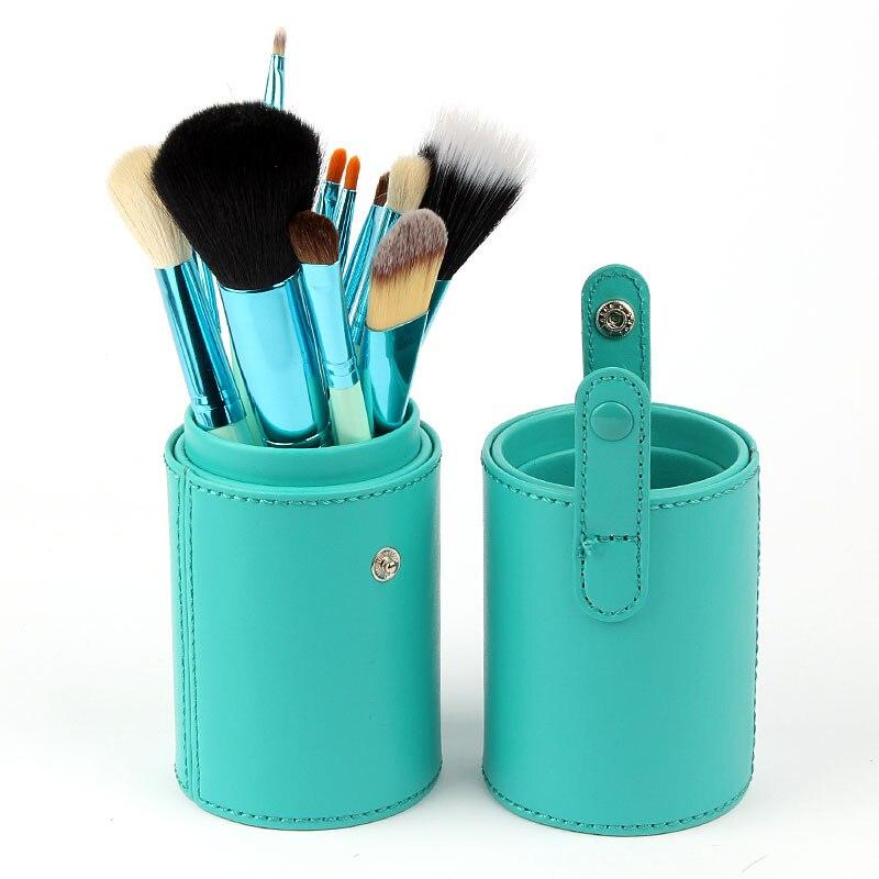 Profissional novo 100% novo 12 pçs/set pro pincéis de maquiagem cosméticos conjunto ferramenta de maquiagem escovas conjunto ferramentas