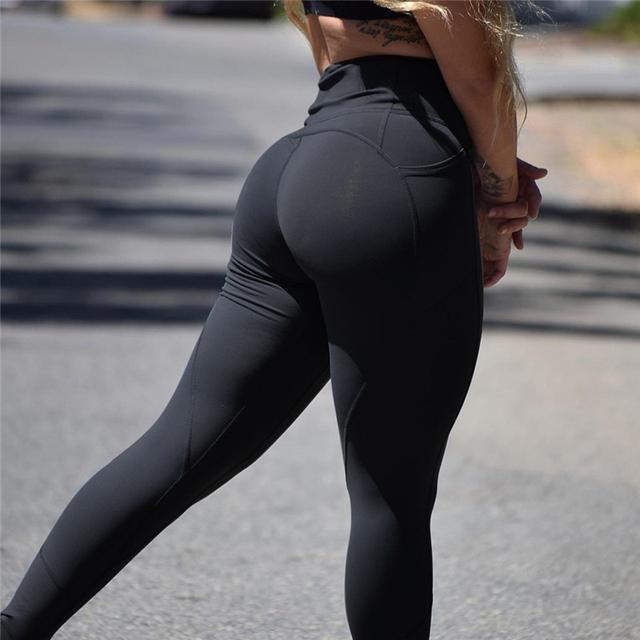 Women's Compression Push Up Leggings 5 colors S-XL