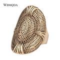 Винтажное роскошное кольцо в стиле хип-хоп, большое античное Золотое кольцо для женщин, модные эффектные Свадебные помолвки, мужское кольцо...