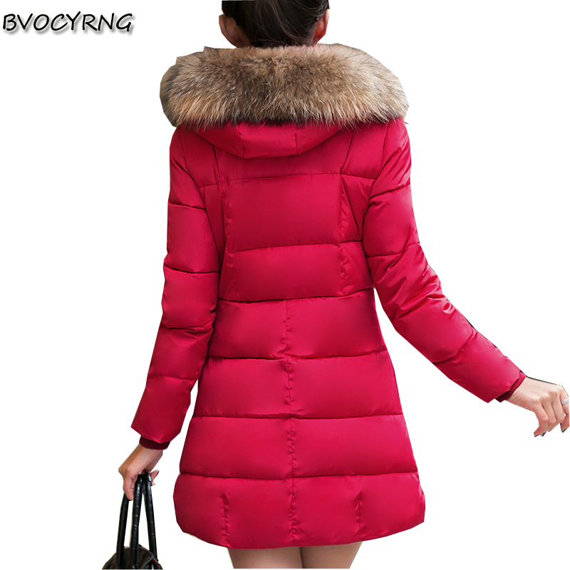 2017 New Winter Fashion Big Yards Elegant Women Jacket Slim Coat Pure Color Hooded High-heeled Cotton Down Jacket Coat Q449 europe winter big yards women coat warm duck down down jacket elegant pure color casual thick hooded slim women short coat g0451