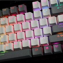 MP 108/87 клавиш Просвечивающая подсветка PBT Keycap для Corsair STRAFE K65 K70 Logitech G710+ Проводная USB механическая клавиатура Keycap
