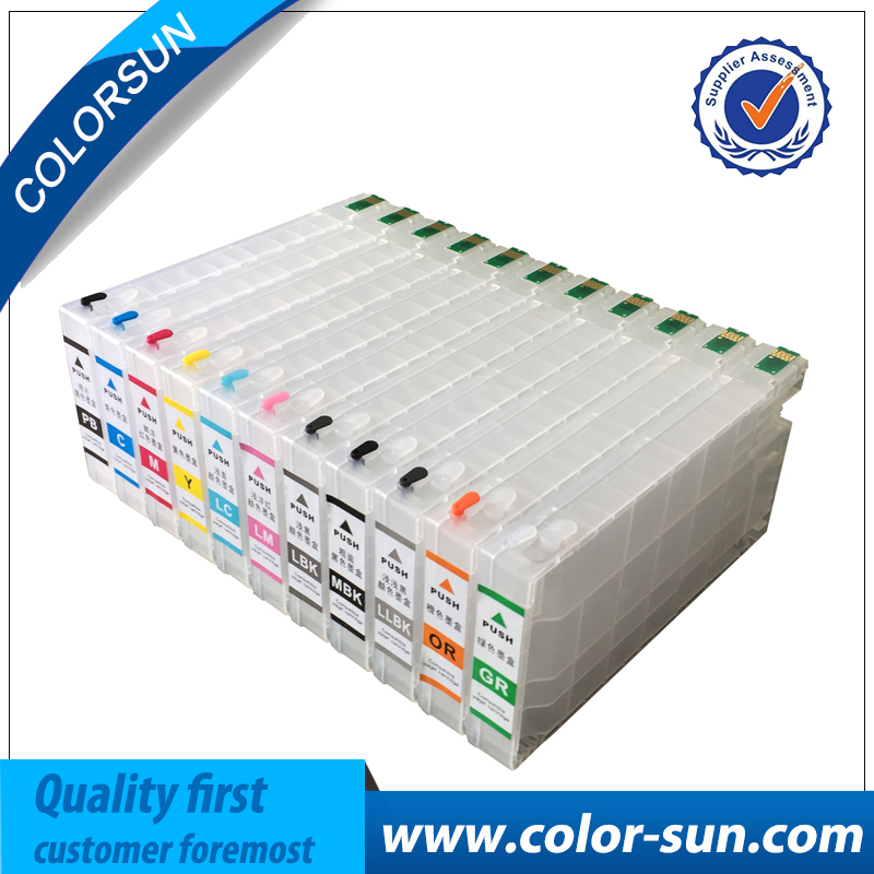 New Compatible for Epson T6531-T6539 T653A T653B Refillable Ink Cartridge For Epson Stylus Pro 4900 With ARC Chips 11colors 200ml empty ink cartridge with ink bag for epson stylus photo 4900 printer with arc chip