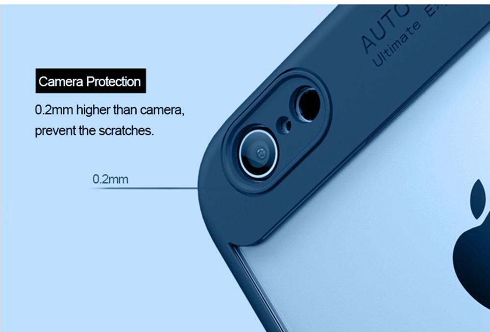 Artisome Helt skyddande fodral för iPhone 6 6S 7 8 Plus X-fodral - Reservdelar och tillbehör för mobiltelefoner - Foto 6