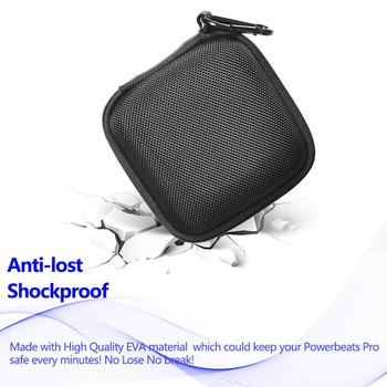 Storage Box for Beats Powerbeats Pro Wireless Bluetooth Sports Earphone Bag Wear-Resistant and Dirt-Resistant Case