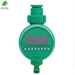 Jardinagem rega temporizador lcd automático eletrônico controladores de irrigação temporizador água casa inteligência digital sistema rega